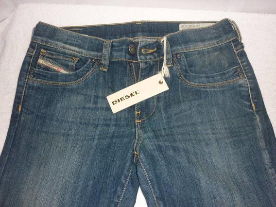 Pantalon Jean Diesel Original Damas Talla 27