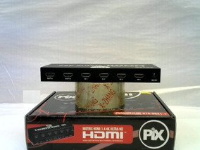 Distribuidor Splitter Switch Seletor Pix Matrix Hdmi 4x2