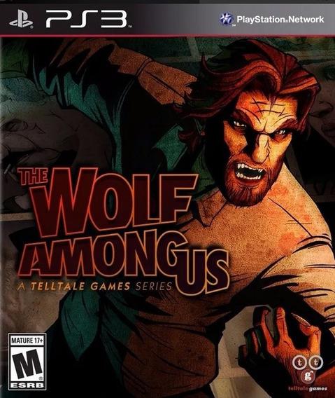 The Wolf Among Us Ps3 Jogo Original Lacrado Mídia Física