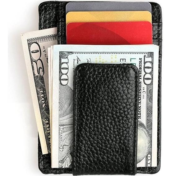 Clip Para Billetes Cartera Billetera Unisex Antirrobo Rfid