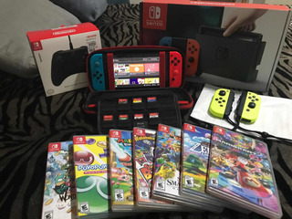 Nintendo Switch / 6 Juegos / Controles