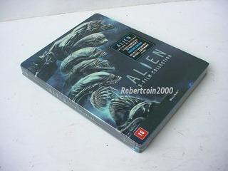 Blu-ray Steelbook Coleção Alien 6 Filmes-original -lacrado