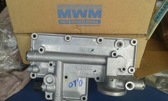 Resfriador De Oleo Com Intercabiador Cj Motor X10/x12 4.10