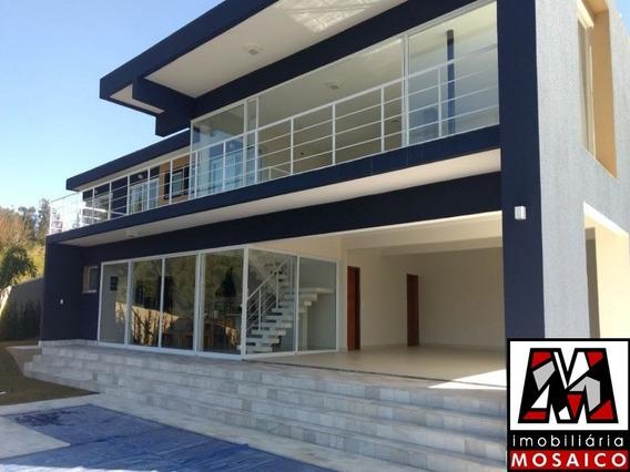 Casa Em Condomínio De Alto Padrão Bairro Caxambu Fino Acabamento - 23030 - 34672710