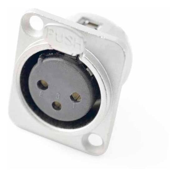 Conector Plug Painel Santo Ângelo Sa Xlr Sa2x