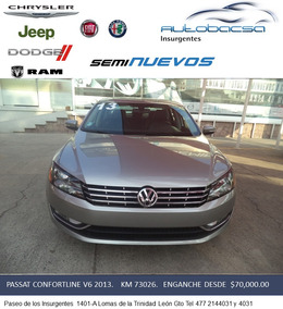 Impecable Passat V6 2013.