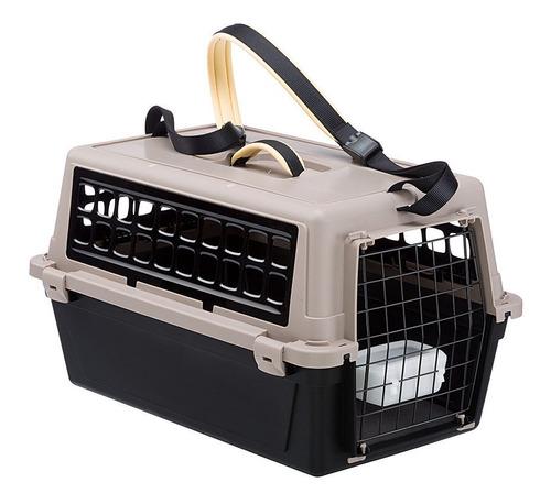 Imagen 1 de 4 de Transportadora Perro Y Gato Atlas 10 Trendy Negro