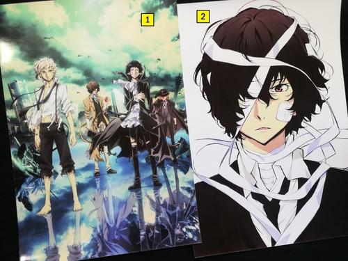 Posters A3 29x42cm Anime Bungou Stray Dogs #1 / Niponmania