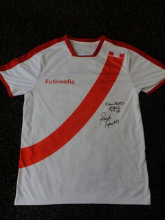 Camiseta Peru Firmada Scotiabank