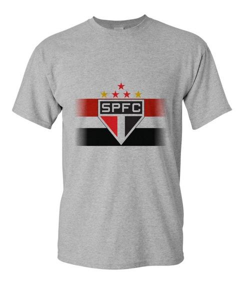 Camiseta Camisa Masculina São Paulo Futebo Plus Size At G6