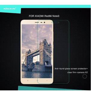 Xiaomi Redmi Note 3 Nillkin Vidrio Templado Mica Protector