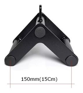 Puxador Triângulo Fixo Pequeno Remada Pulley Musculação