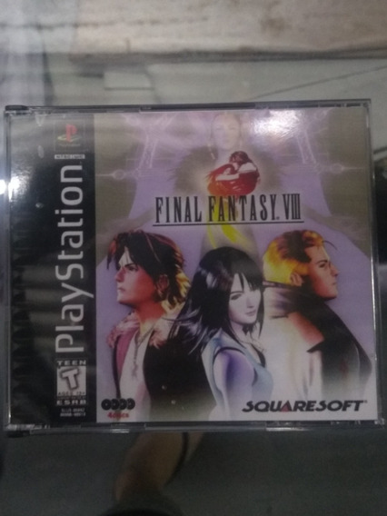 Final Fantasy Viii Patch Mídia Preta Ps One