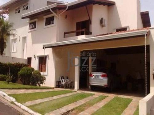 Ótima Casa Com 4 Dormitórios À Venda, 264 M² Por R$ 1.300.000 - Jardim Das Paineiras - Campinas/sp - Ca6594