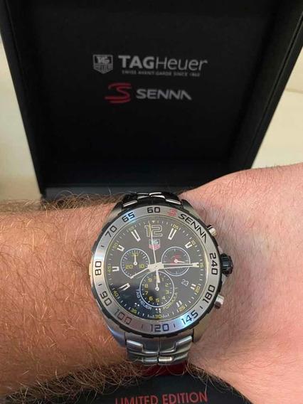 Relógio Tag Huerer Ayrton Senna Limited Edition Impecável