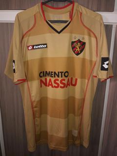 Camisa Do Sport Recife 2009 (lotto) Libertadores Tamanho G