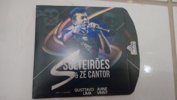 Cd Solteirões Do Forró 2017 -promocional -frete Grátis