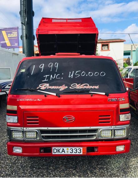 Super Oferta Camion Daihatsu Delta 1999 Volteoo Rojo New