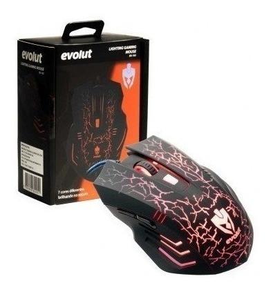 Mouse Gamer Laser Usb Óptico Pc 3200 Dpi Iluminado