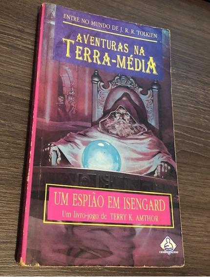 Livro Raríssimo Senhor Dos Anéis Um Espião Em Isengard, 1994