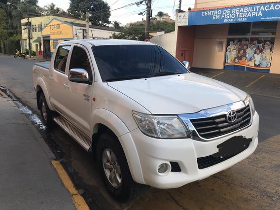 Toyota Hilux 2.7 Flex 4x2 Branca