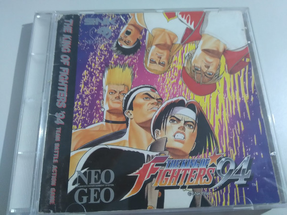 The King Of Fighters 94 Neo Geo Cd Original Completo!