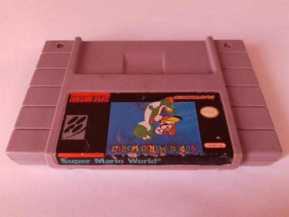 Super Mario World Original Americano E Novinho!!