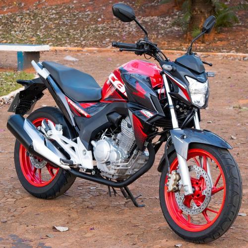 Imagem 1 de 10 de Moto Honda Twister 2020 Vermelha