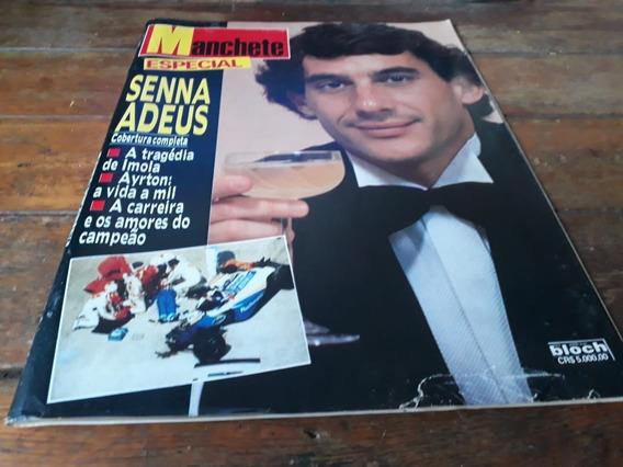 Revista Manchete - Especial - Senna Adeus