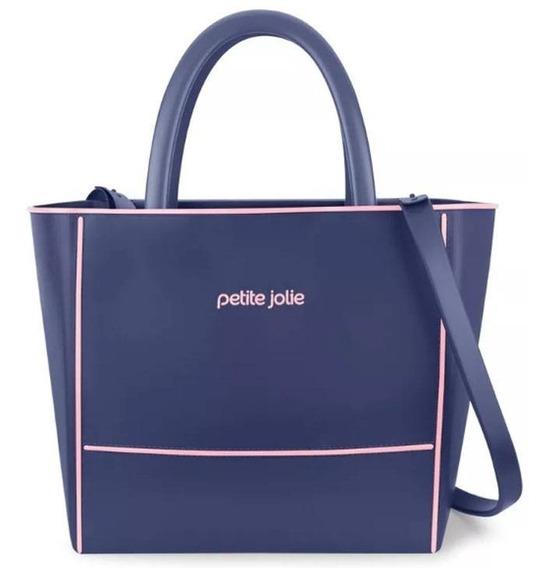 Bolsa Petite Jolie Pj3190 Azul/vermelha