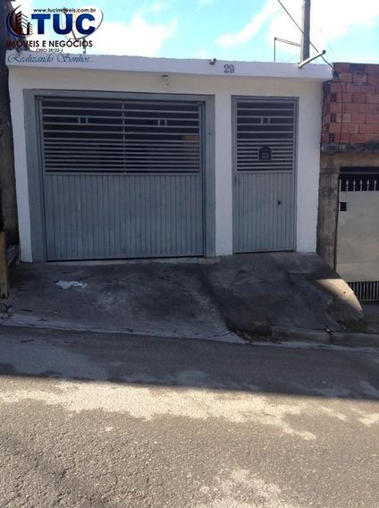 Casa Térrea 02 Dormitórios 01 Vaga -jd João De Barro -sbc - 9020