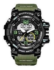 Bumvor Sport Watch Envio Em 24 Hrs Bateria Brinde