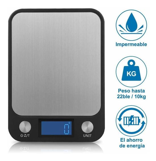 Balanza Digital De Alimentos Slowton Capacidad De 10kg/2