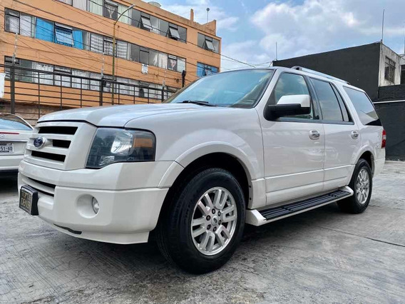 Impecable Ford Expedition Limited Max 2009 Tres Filas Q/c