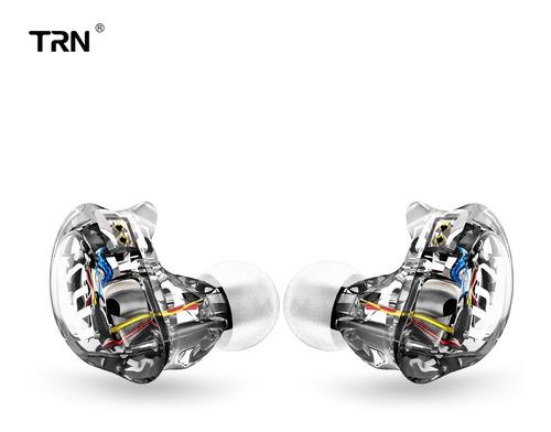 Imagen 1 de 8 de Trn V10 2dd Con 2ba Híbrido En La Oreja Auricular Cableado