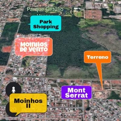 Terreno Mont Serrat Canoas Moinhos 410m² Troca Apartamento