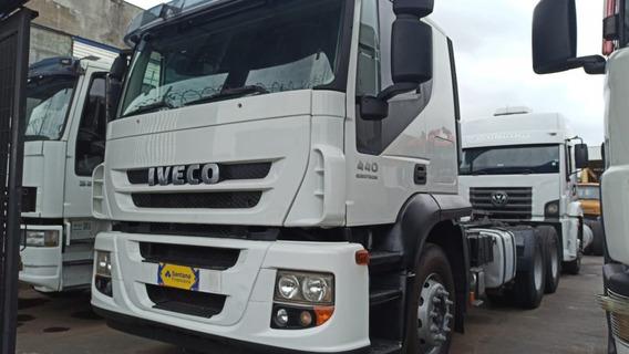 Iveco Stralis 440 6x4 Teto Baixo 2013 ! $135.000
