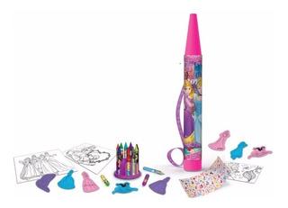 Mega Crayon Set De Arte Princesas Tapimovil