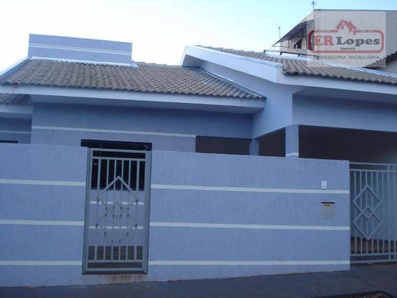 Casa Residencial À Venda, Centro, Eldorado. - Ca0065