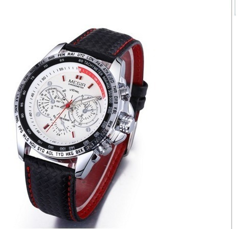 Megir Famosa Marca Mens Relógios Top Marca De Luxo Relógio D