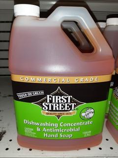 Lavaplatos Concentrado Tipo Industrial Marca First Street
