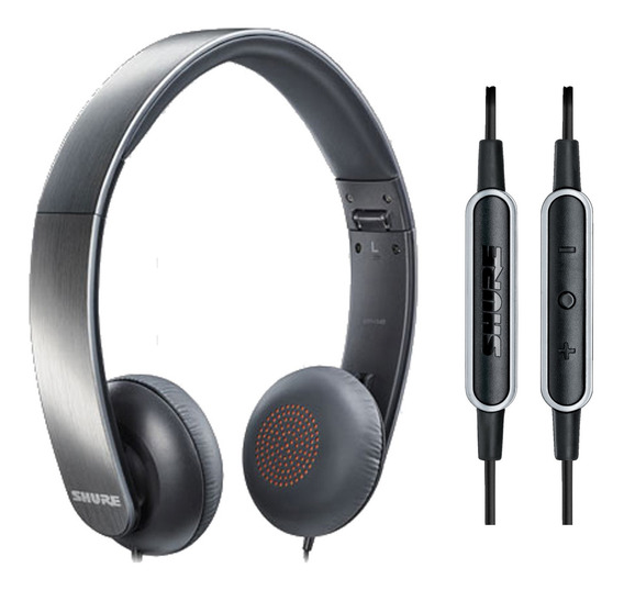 Fone De Ouvido On-ear Portátil Srh-145m+ E Microfone - Shure