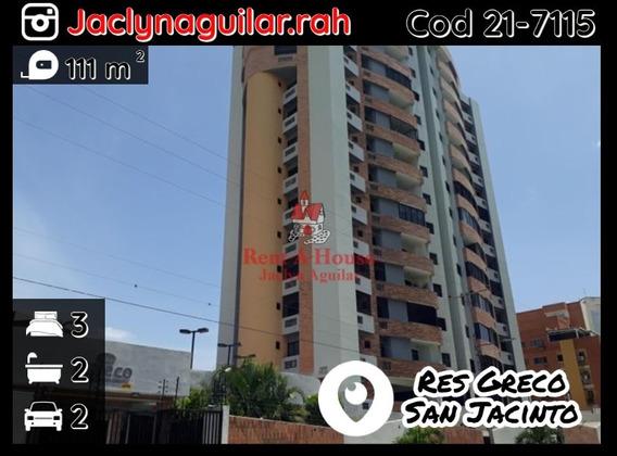 Apartamento En Venta San Jacinto Res Greco Cod 21-7115 Jja