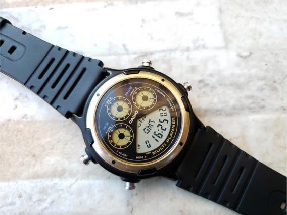 Relógio Casio Bgp-20 Multi Planner Anos 90 Raríssimo Ok