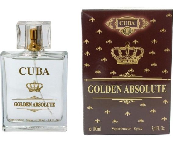 Perfume Cuba Golden Absolute Inspirado Em Malbec 100ml