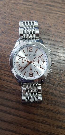Relógio Unlisted Prata