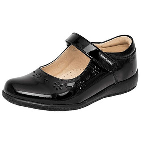 Zapatos Escolar Dama Negro Hush Puppies Piel Udt 55996