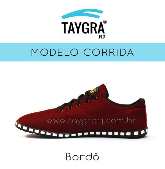 Taygra Modelo Corrida Bordô (vinho )
