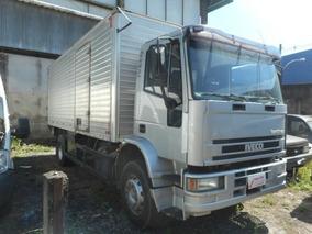 Caminhão Iveco Tector Ec Tector 170e22 + Baú Plat.hidráulica
