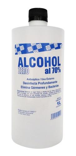 Imagen 1 de 4 de Alcohol Antiséptico 1 Litro Marca Alcohol Zero